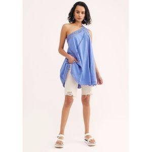 NWOT FP Billie Battenburg One Shoulder dress